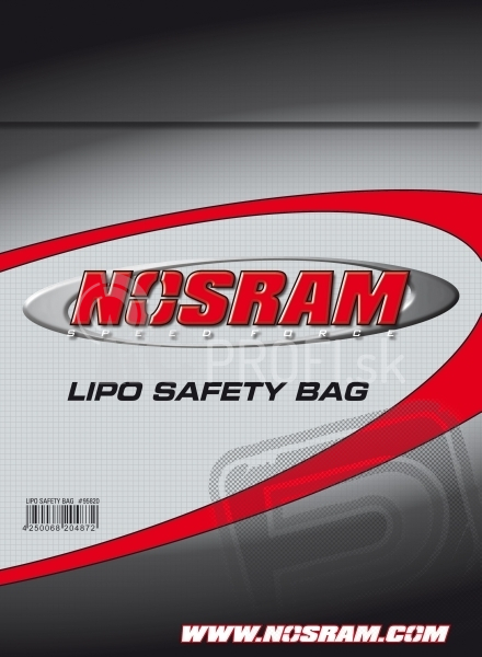 NOSRAM - LiPo SAFE ochranný vak pro LiPo sady - 23x30cm