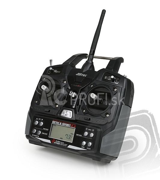 OPTIC 6 SPORT 2,4 GHz (mode 1), prijímač Minima 6S