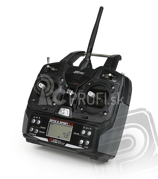 OPTIC 6 SPORT 2,4 GHz (mode 2), len vysielač