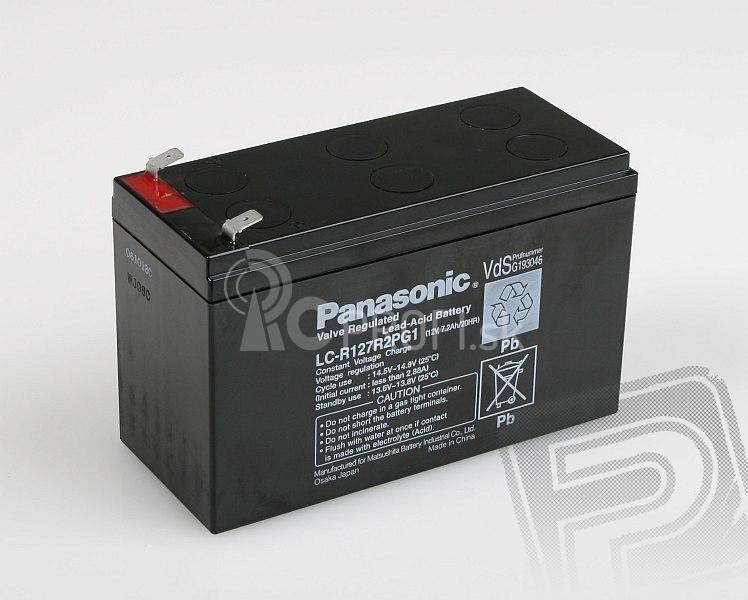 Panasonic 12V 7,2Ah