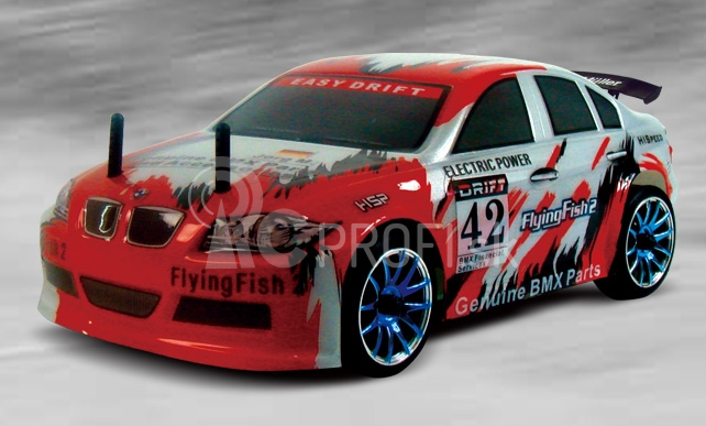 RC auto BMW DRIFT - Flying fish 2, HSP, 1/16, RTR