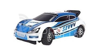 RC auto FUNRACE WRC 1:18, modrá