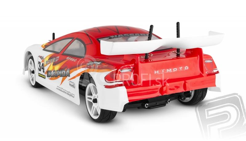 RC auto Himoto Nascada, červená