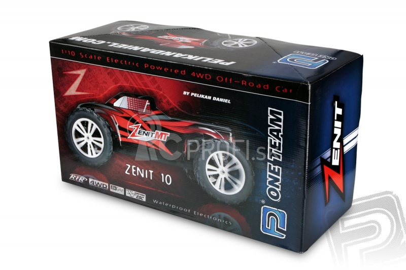 RC auto HiMoto ZENIT MT Brushless, modrá