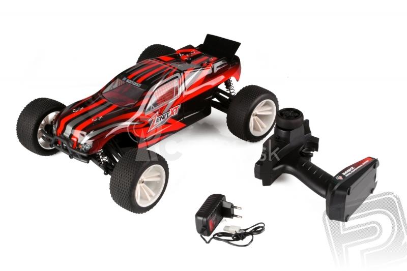 RC auto HiMoto ZENIT XT Brushless, červená
