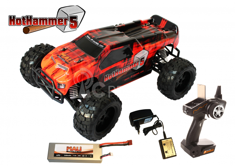 RC auto Hot Hammer 5 XL brushless