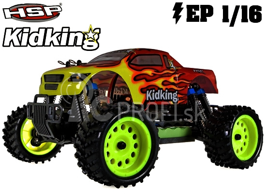 RC auto HSP Kidking 1/16 RTR