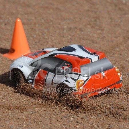 RC auto Losi Micro-Rally Car 1:24, bílý/červený