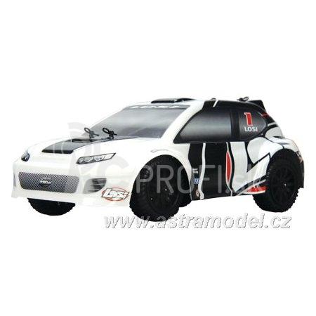 RC auto Losi Micro-Rally Car 1:24, bílý/modrý