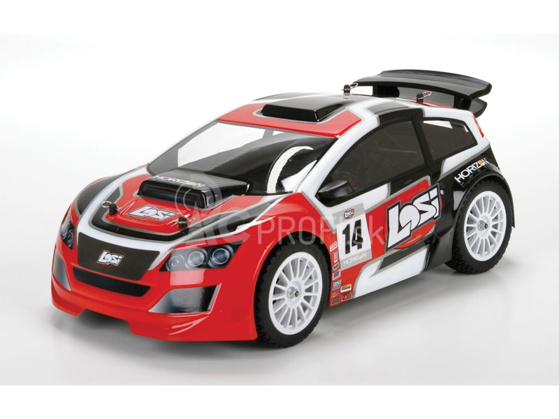 RC auto Losi Mini Rally 1:14
