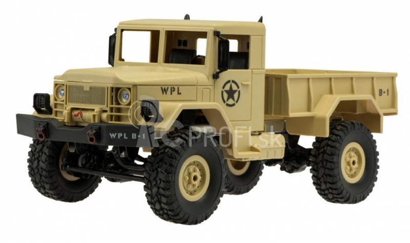 RC auto Military Truck, piesková
