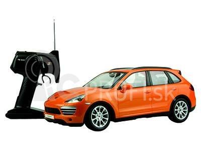RC auto Porsche Cayenne Turbo, oranžová