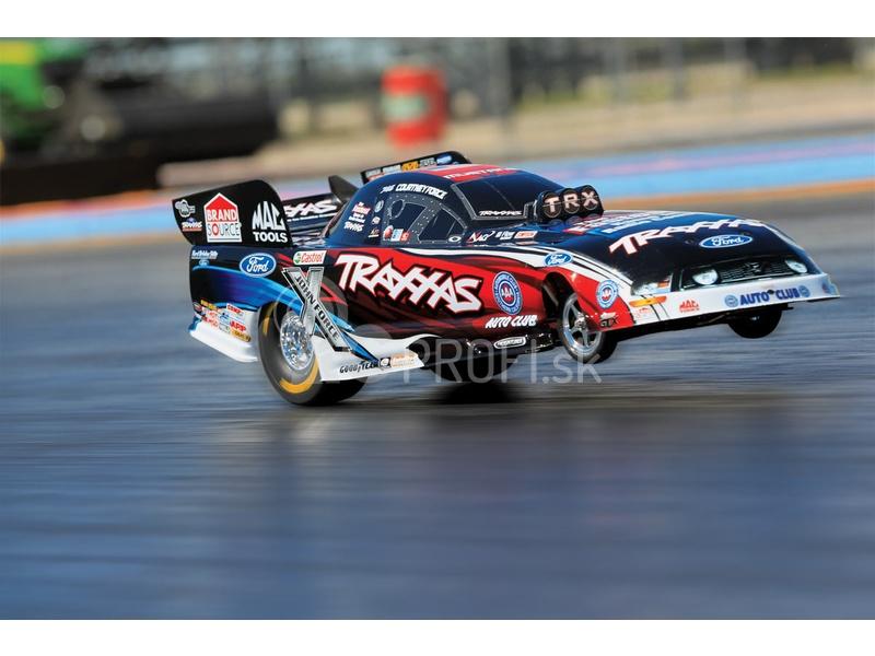 RC auto Traxxas Funny Car 1:8