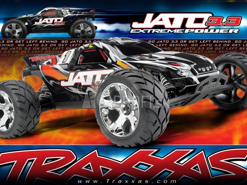 RC auto Traxxas Nitro Jato TQi