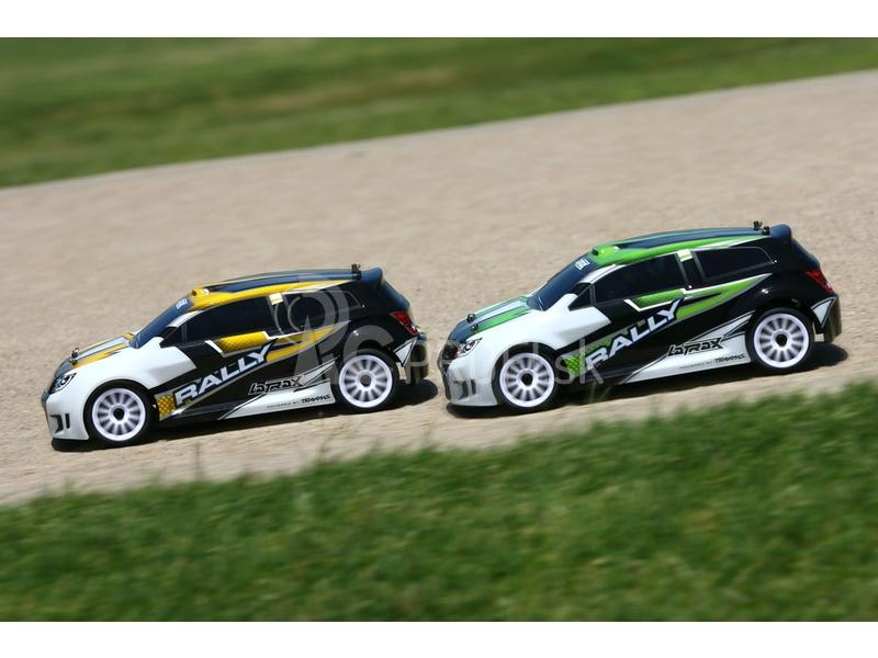 RC auto Traxxas Rally 1:18 4WD TQ RTR
