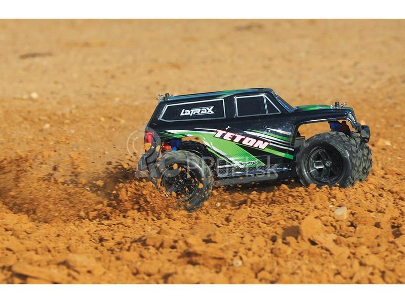 RC auto Traxxas Teton 1:18 4WD TQ RTR, červená