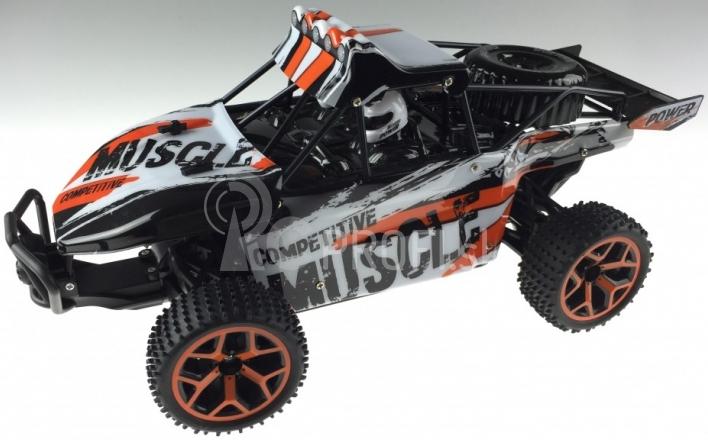 RC auto X-Knight 1:18 RTR 4WD, oranžová