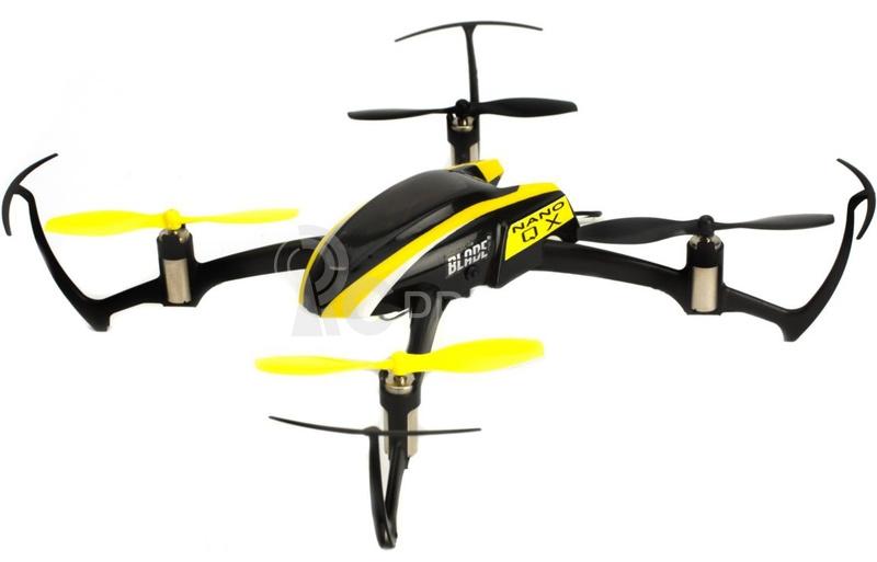 RC dron Blade Nano QX, mód 1