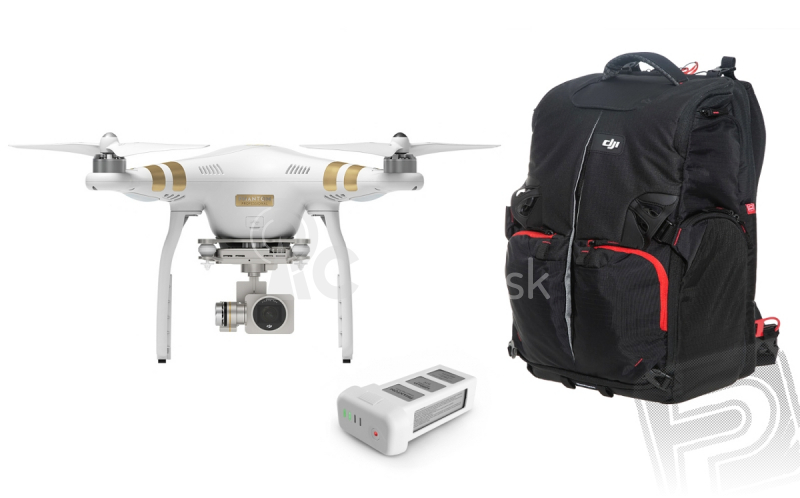 RC dron DJI Phantom 3 Professional, set 3