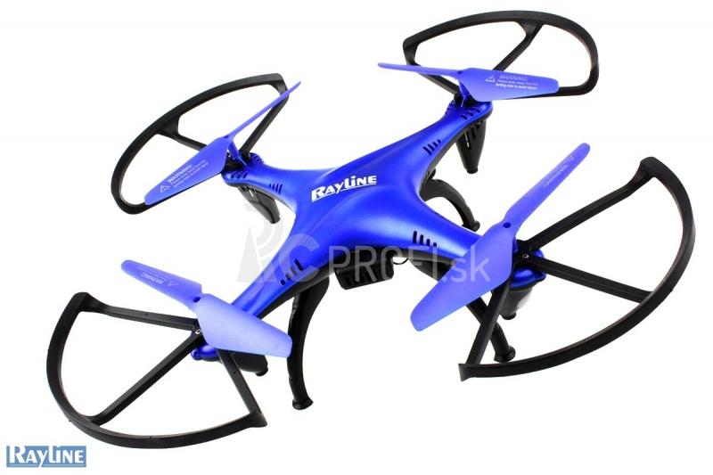 RC dron Funtom 6 2x AKU! Barometer, HD kamera