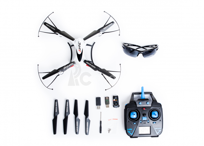 RC dron JJRC H31 s kamerou, biela