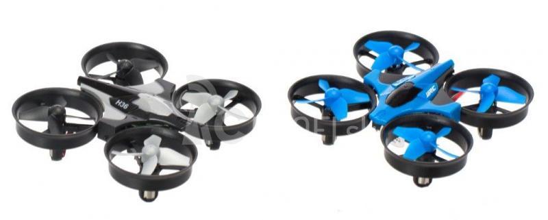 RC dron JJRC H36 mini, modrá