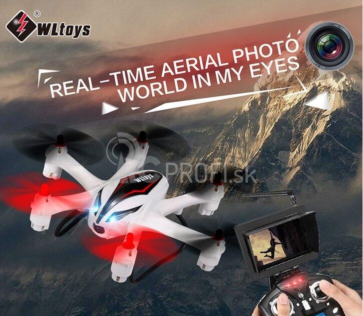 RC dron Q282 - Hexakoptéra s FPV 5,8Ghz