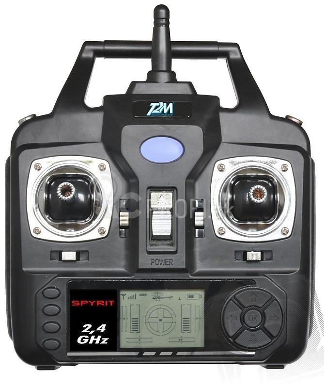 RC kvadrokoptéra Spyrit + kamera