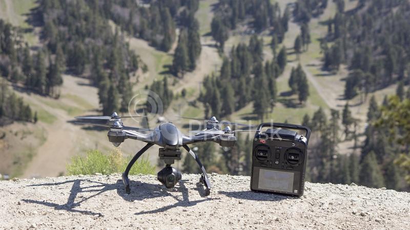 RC dron YUNEEC Q500 4K TYPHOON + kufor