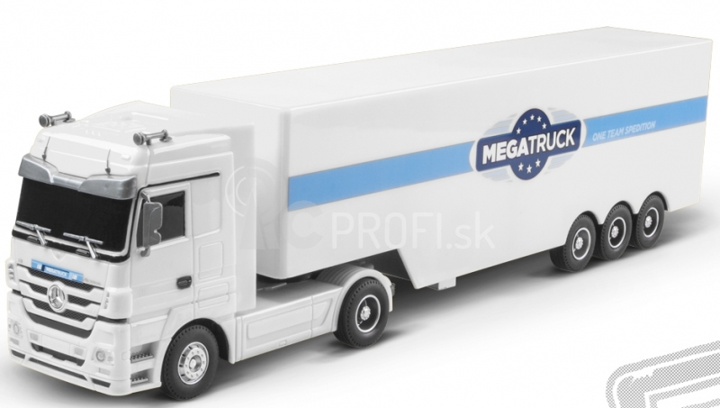 RC kamión Mercedes Benz , biely