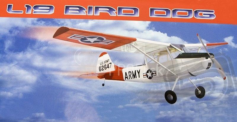 RC lietadlo Cessna L-19 Bird Dog