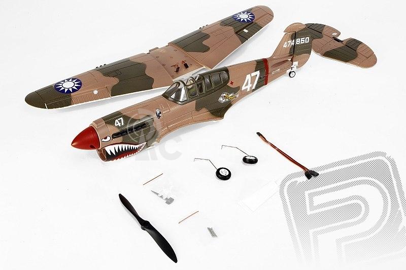 RC lietadlo P-40 Warhawk (Baby WB)