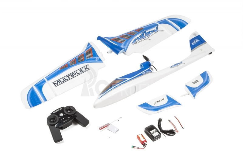 RC lietadlo SHARK Mode 1+3