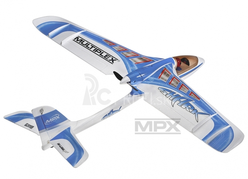 RC lietadlo SHARK Mode 2+4