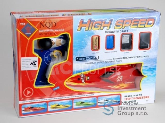 RC loď 1:38 MINI HIGH SPEED