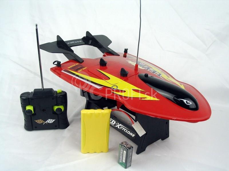 RC loď a ponorka Levin - červená