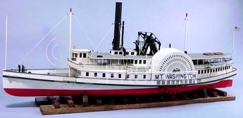 RC loď Mount Washington