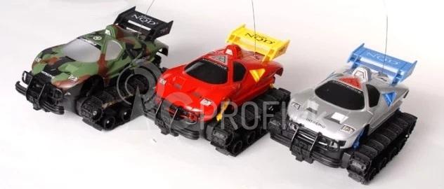 RC obojživelné pásové vozidlo, maskáč