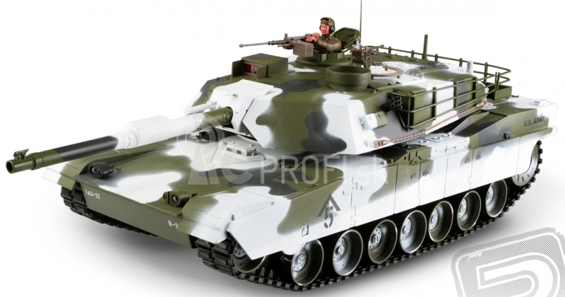 RC tank 1:16 M1A1 Abrams 2.4GHz