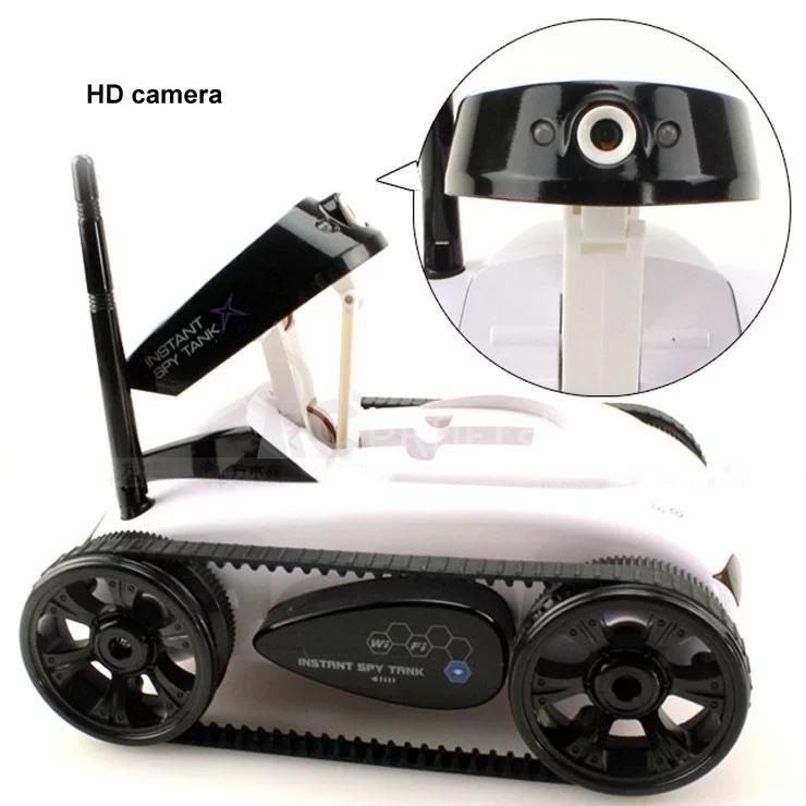 RC tank s kamerou i-Spy