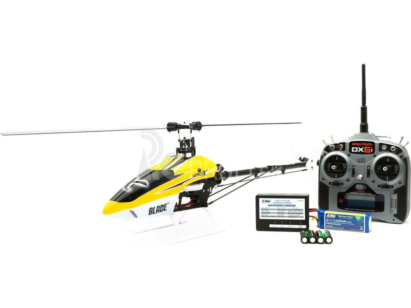 RC vrtuľník Blade 450 X, mód 2
