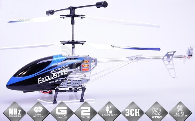 RC vrtuľník CX-007 Exclusive