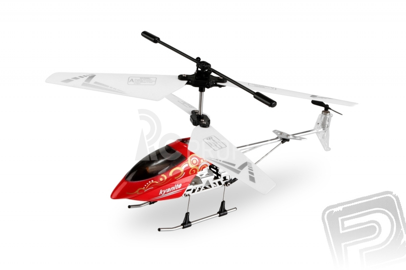 RC vrtuľník Nanocopter, červená
