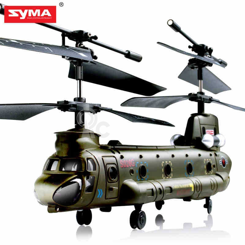 RC vrtuľník Syma Chinook 026G