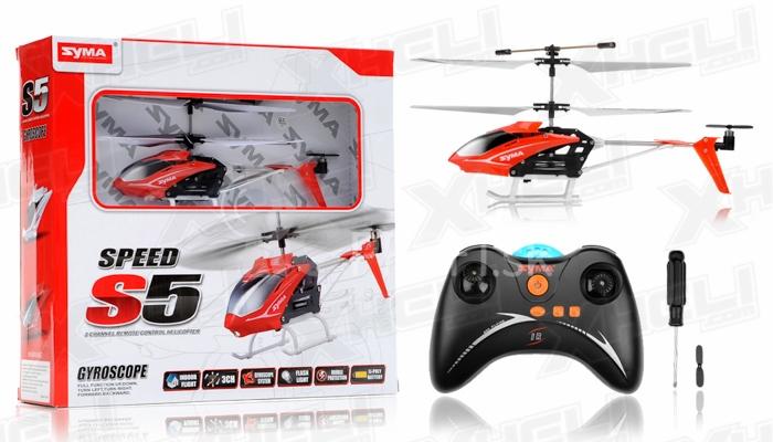 RC vrtuľník Syma S5