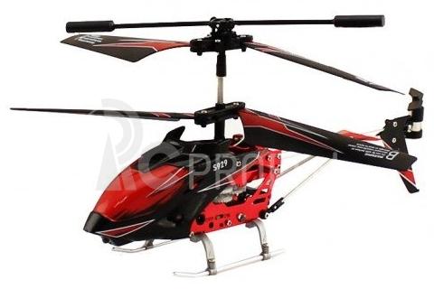 RC vrtuľník Swift S929, červená