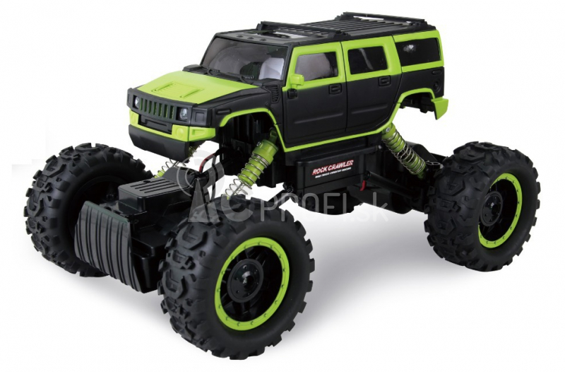 RC auto Rock Crawler 4x4 1:14, zelená