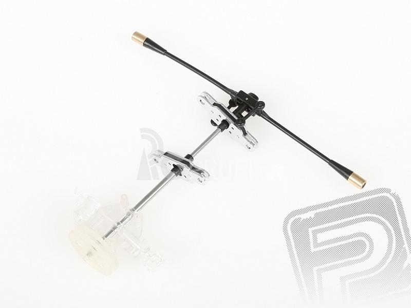 Rotorový komplet bez listov so stabilizátorom - NANOCOPTER
