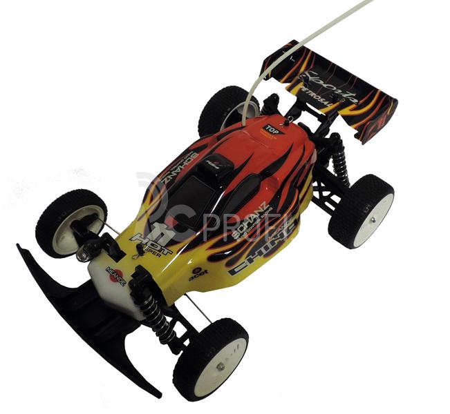 RC buggy Speedster 6001, červeno-žltý