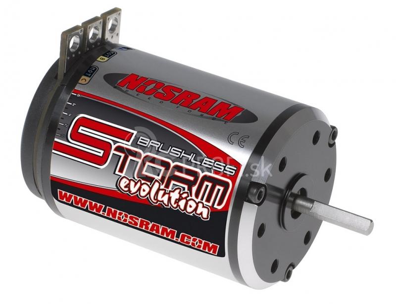 STORM EVOLUTION Brushless Modified 4,0 závitový motor